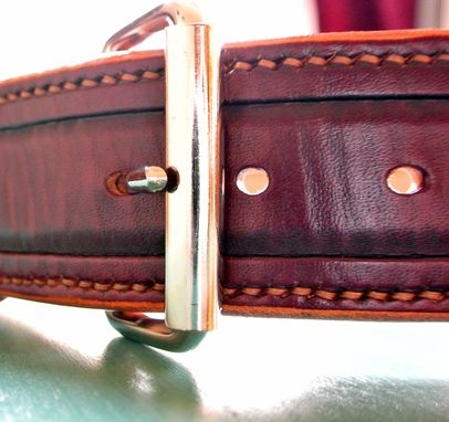 Custom Made The Grizzly - Leather Belt