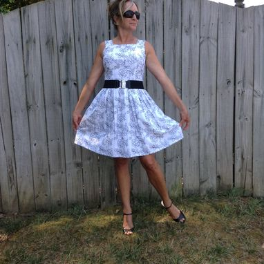 Custom Made Women's Skirts And Dresses Custom Made Fit And Flare Dress