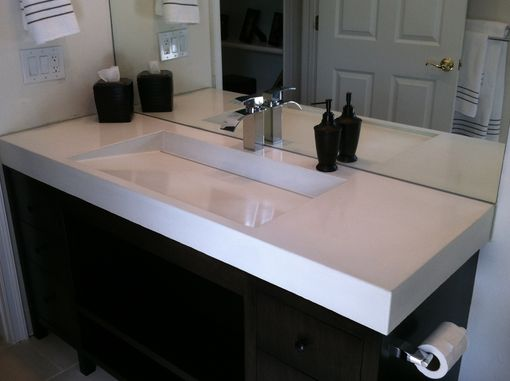 Custom Made Concrete Ramp Sink