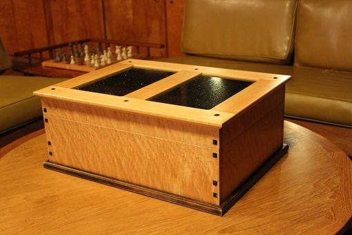 Custom Made Maple Humidor
