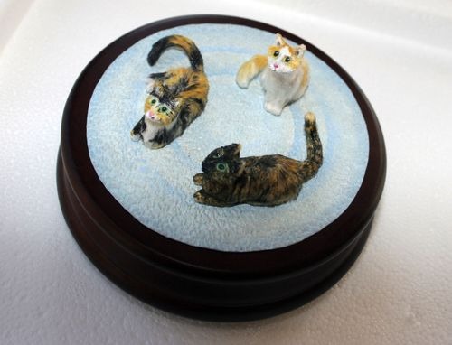 Custom Made *Cats * Kitties* Kittens* And More :)  Customized Cat Sculptures