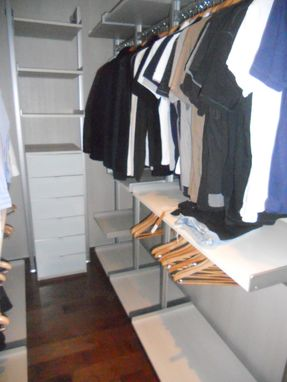 Custom Made Closet Italian Melamine
