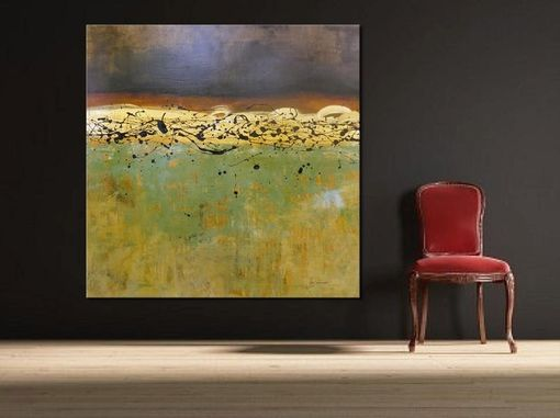 Custom Made Extra Large Modern Painting Abstract Art By Gino Savarino