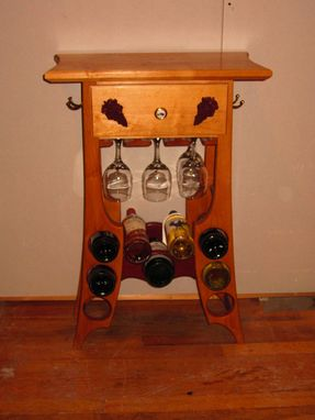 Custom Made Wine Tasting Table