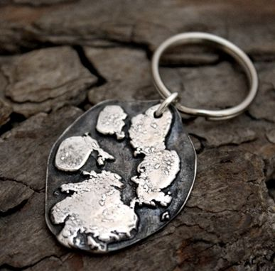 Custom Made Personalized Necklace - Baby Hand Prints, Foot Prints Or Pet Paw Print