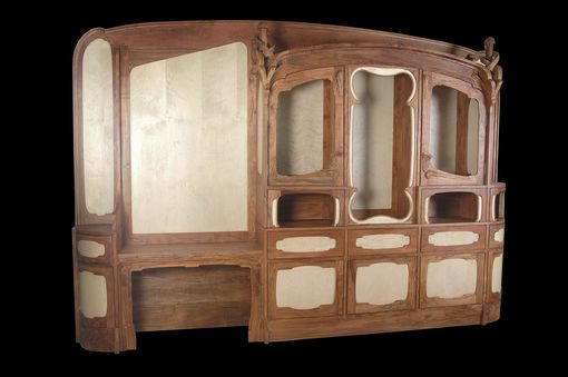 Custom Made Art Nouveau Cabinetry