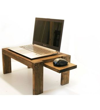 Custom Made Woodwarmth Laptop Stand