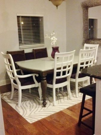 hand crafted custom repurposed dining tablejilliann mae's