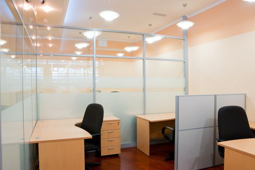 Custom Made Glass Partitions