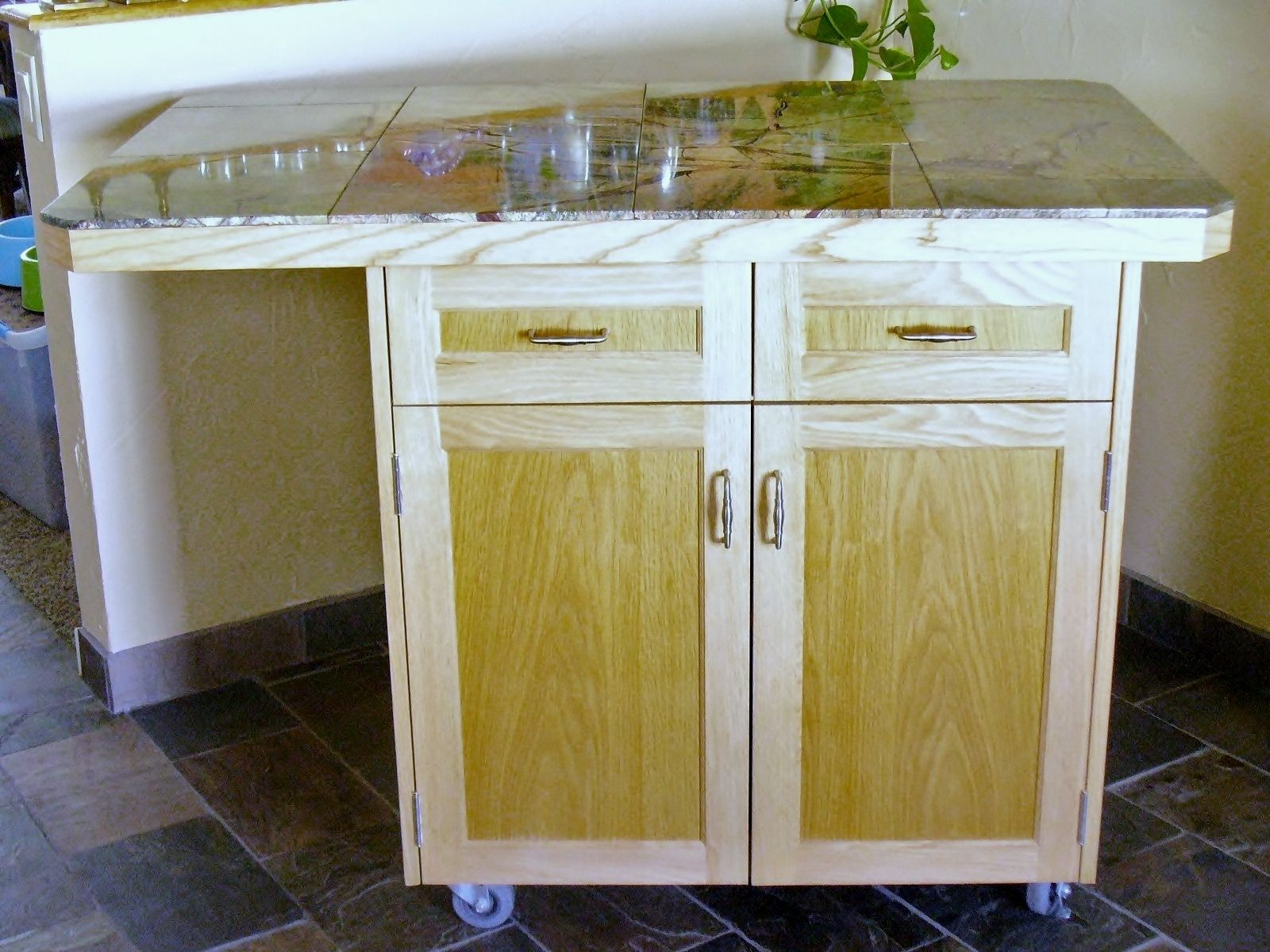 Custom Rolling Kitchen Island by Accent Products pany