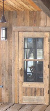 Custom Made Reclaimed Wood Screen Doors