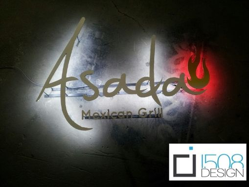 Custom Made Asada Store Front Halo Sign