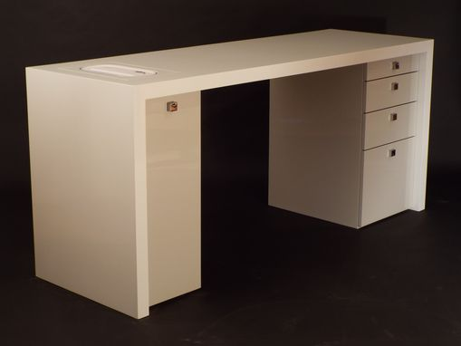 Custom Made Gloss Lacquer Modern Desk