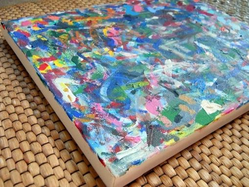 Custom Made Splat! Abstract Acrylic Painting