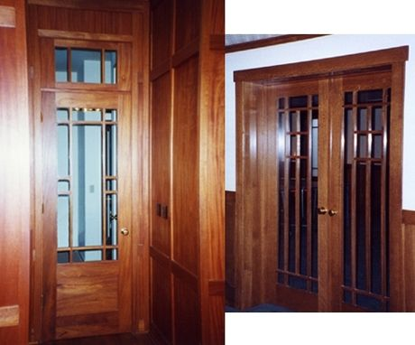 Custom Made Praire Style Doors