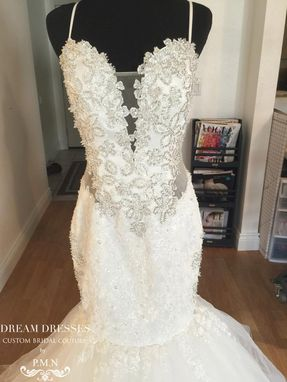 Custom Made Detachable Strapless Ball Gown