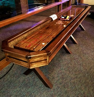 Custom Made Luxury Class Shuffleboard Table