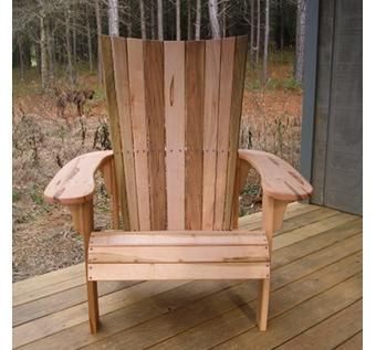 Custom Made Tulip Poplar Adirondack Chairs