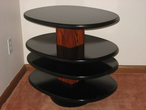 Custom Made Cocobolo End Table