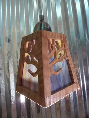 Custom Made Sequoia Pendant Light