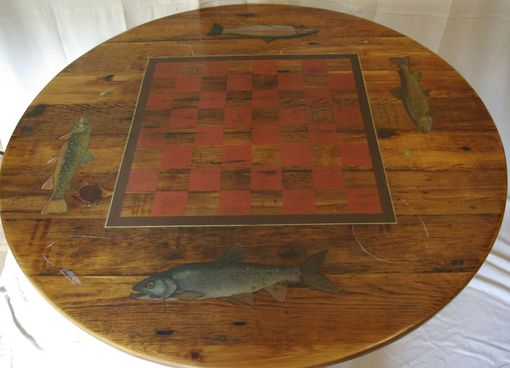 Custom Made Rustic Game Table