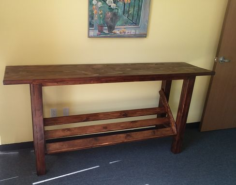 Custom Made Office Entry Table