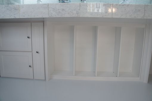 Custom Made Laundry Cabinet
