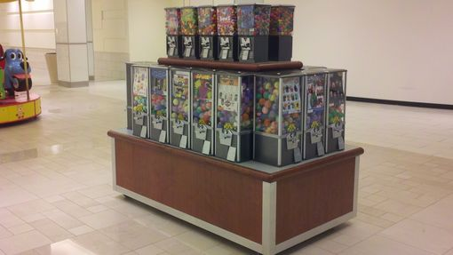 Custom Made Laminated Moblie Candy Stand