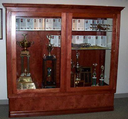 Custom Made Trophy Display Case