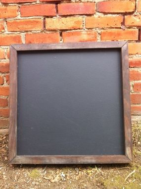 Custom Made Double Sided Chalkboard Shop Display Sign