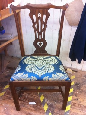 Custom Made Chippendale Side Chair