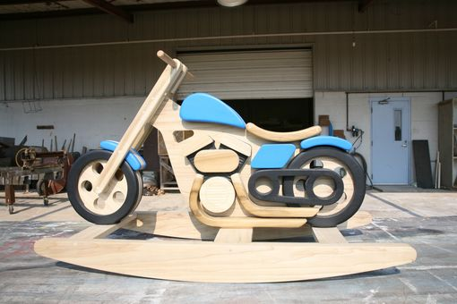 Custom Made Motorcycle Rocking Horse