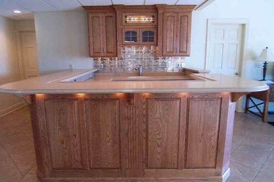 Custom Made Kitchen Bar