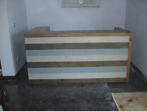 Custom Made Receptionist Desk