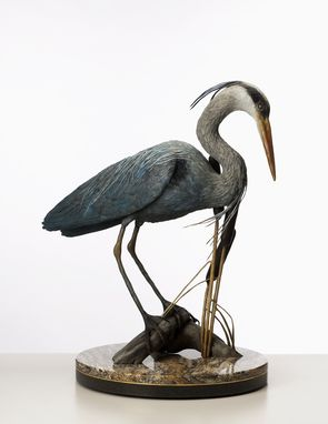 Custom Made Lifesized Bronze Bird Sculptures