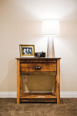 Custom Made Completed Bedside Table