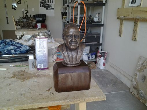 Custom Made Fantasy Football Trophy Bust