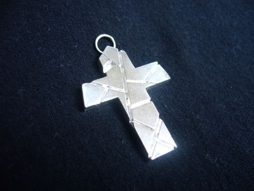 Custom Made Pure Sterling Silver Cross