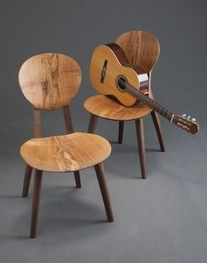 Hand Crafted Sonus Guitar Chair By Brian Boggs Chairmakers Custommade Com