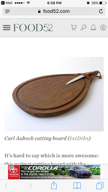 Custom Made Varied Wood Type Cutting Boards