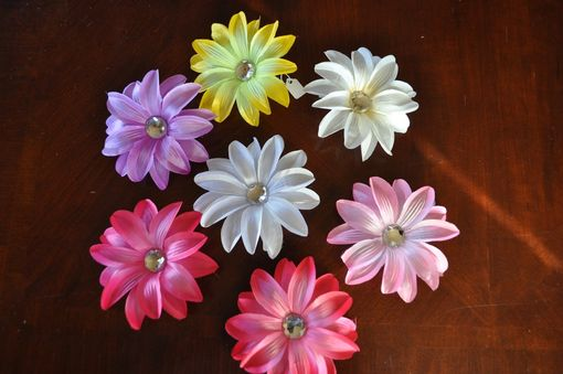 "Custom Made Lily Flower Hair Clip 5"" For Girls Hair Or Headband. Free Usa Shipping."