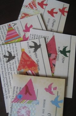 Custom Made Vintage Birdhouse Notecard Set