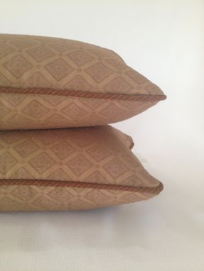 Custom Made Coconut Brown Pillow Cover