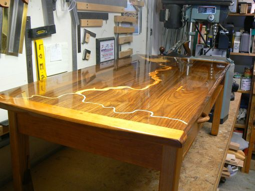 Custom Made American River Coffee Table