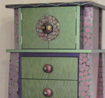 Custom Made Tango Tower Dresser