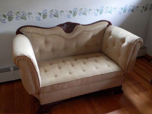 Custom Made Victorian Settee (Restoration)