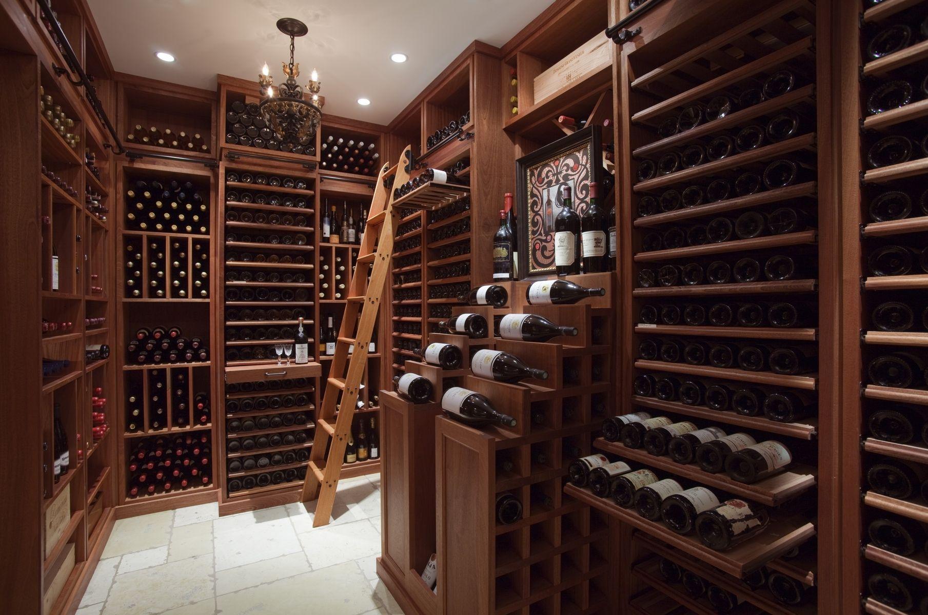 Hand Made Wine Cellar By Superior Woodcraft Inc CustomMadecom - Wine cellar decorating ideas