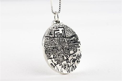 Custom Made Highly Detailed Sketch Drawing Pendant
