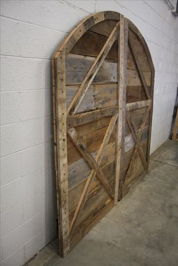 Buy Hand Crafted Arched Top Barn Doors Made To Order From