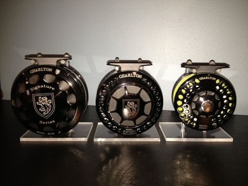 Custom Made Fly Fishing Reel Display